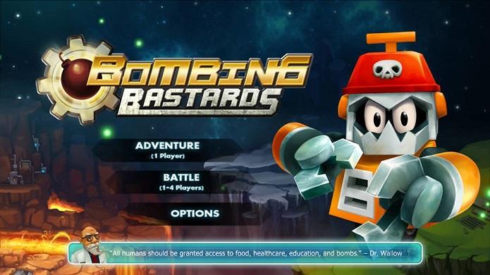 Trailer for Sanuk Games upcoming Wii U release, Bombing Bastards