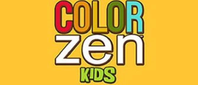 Color Zen Kids title