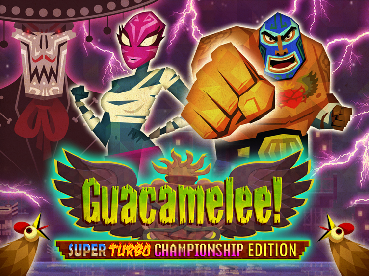 Guacamelee! Super Turbo Championship Edition (STCE) is a Metroid-vania