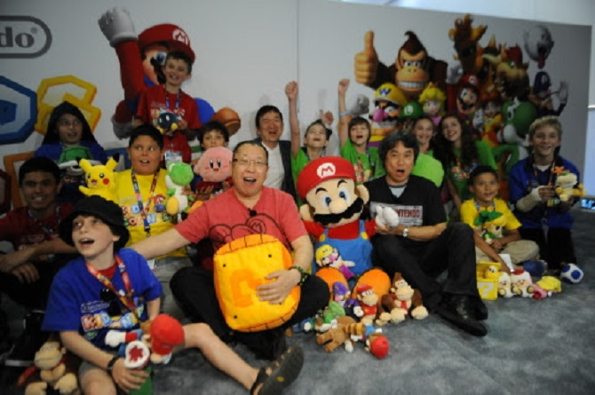 E3 2014 PR: Photos of Nintendo Kids Corner at the E3 Nintendo Booth