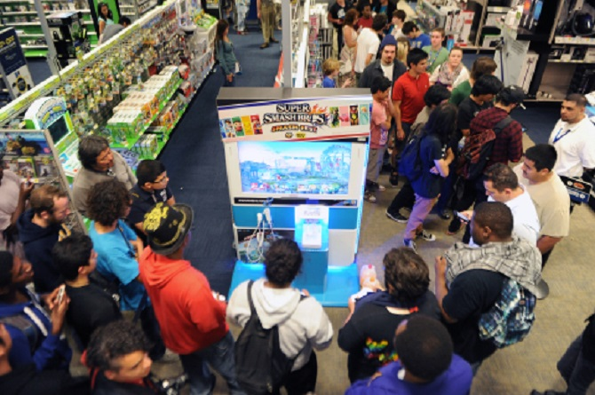 "E3 2014 PR: Photos of the ""Super Smash Bros. Smash-Fest @ Best Buy"" Event"