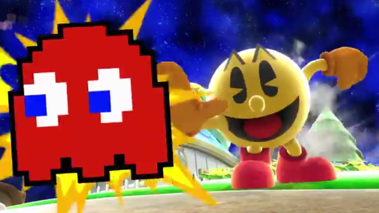 (Updated with PR) E3 2014: Super Smash Bros. Pac-Man screens and first trailer
