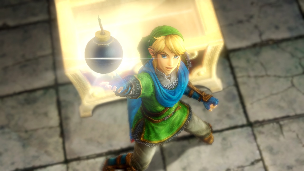 Hyrule Warriors Link Character Trailer