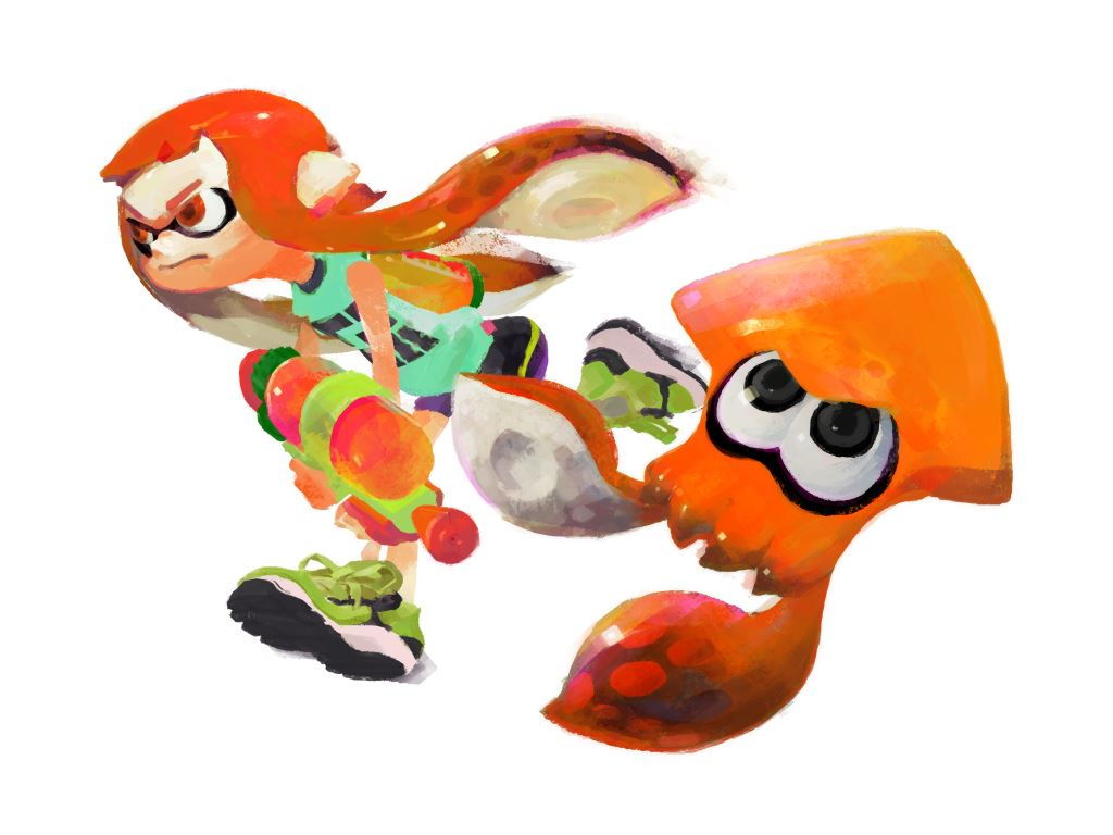 Splatoon update 3/9/15 – A look at the paint roller (Video)