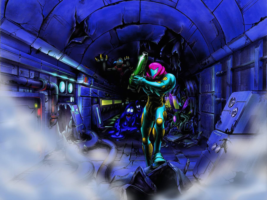 PN Review: Metroid Fusion (Wii U VC)