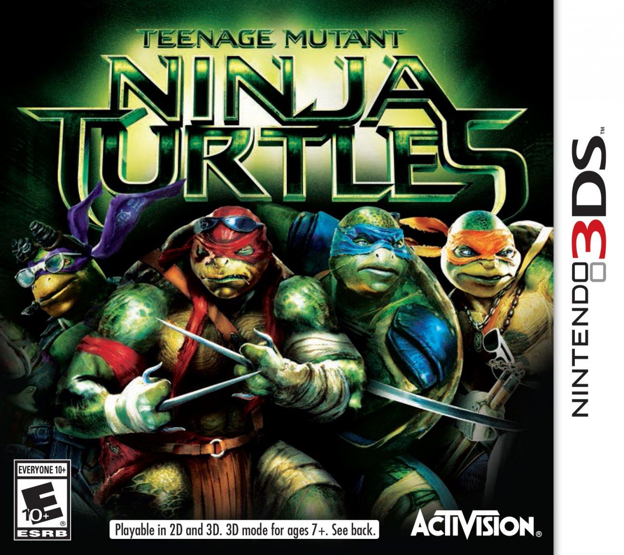 Teenage Mutant Ninja Turtles movie-based game heading to 3DS