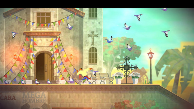 Guacamelee's visuals are simply stunning