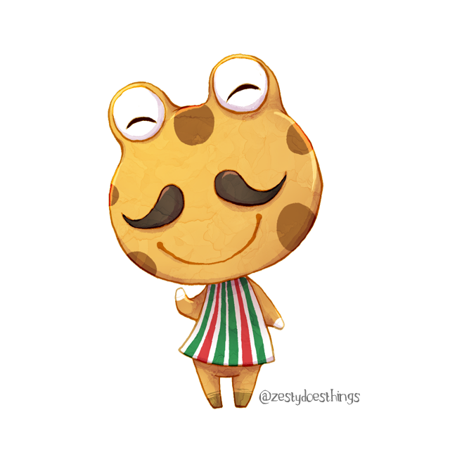 Animal Crossing's Cousteau