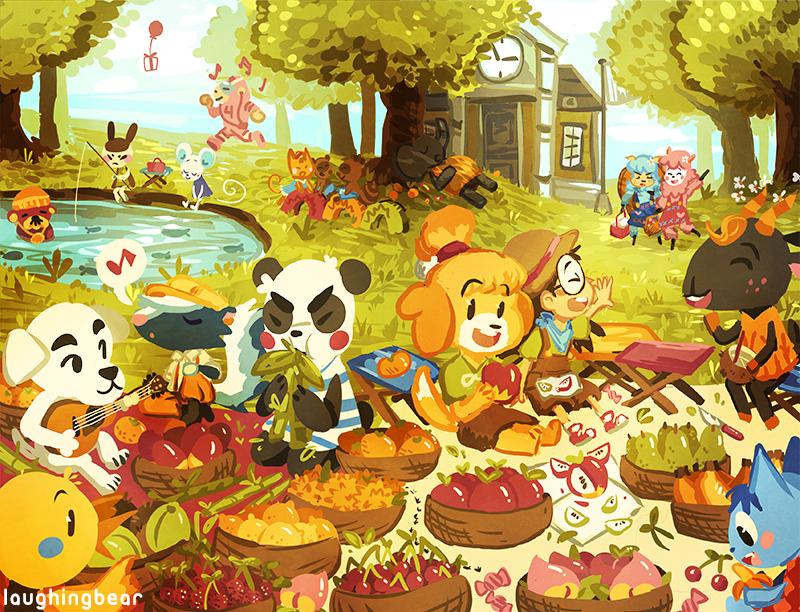 Animal Crossing New Leaf Artist Room