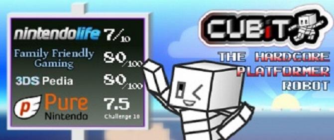 Cubit The Hardcore Platformer Robot – Remastered version, discount, and demo