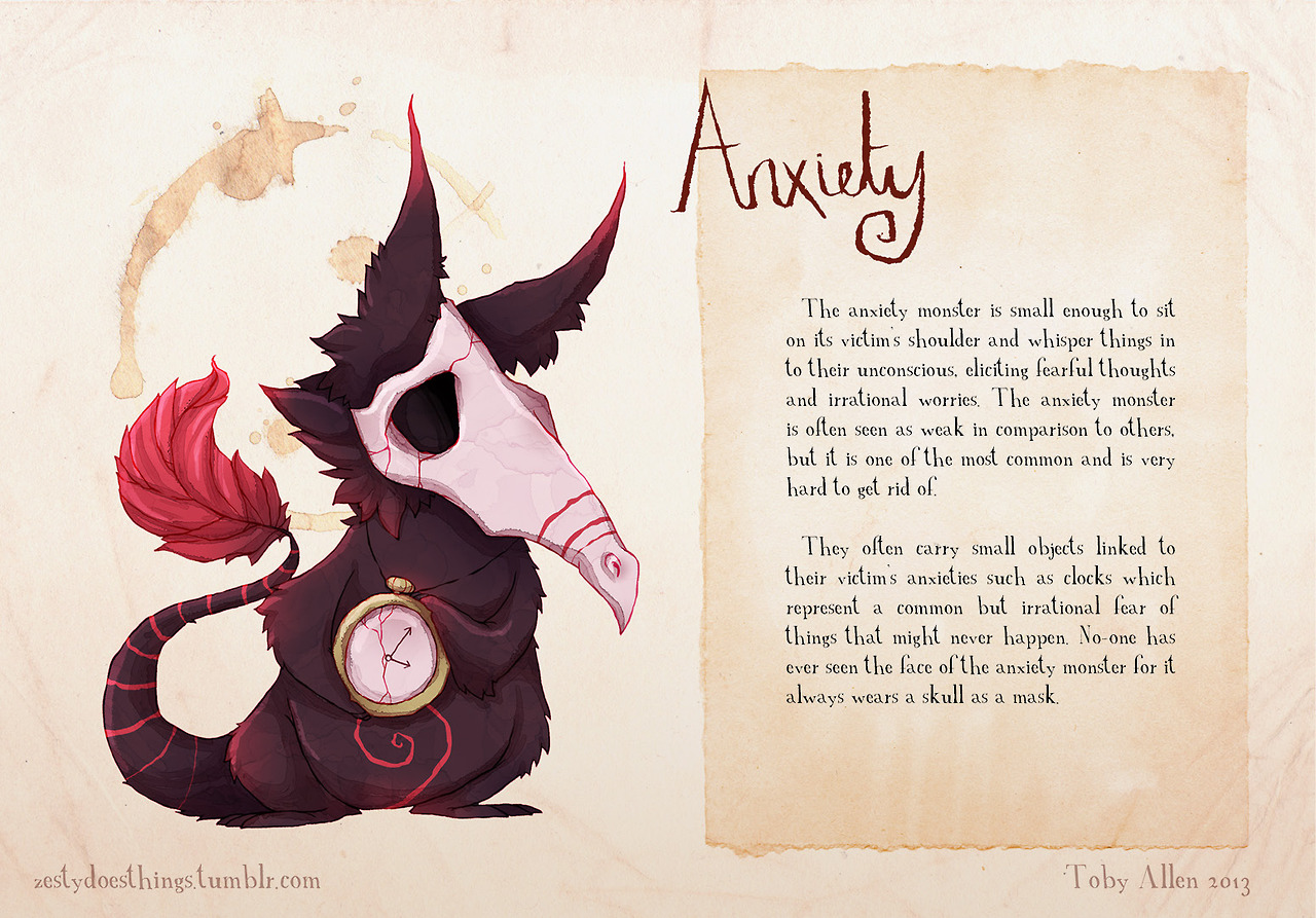 Real Monsters-Anxiety