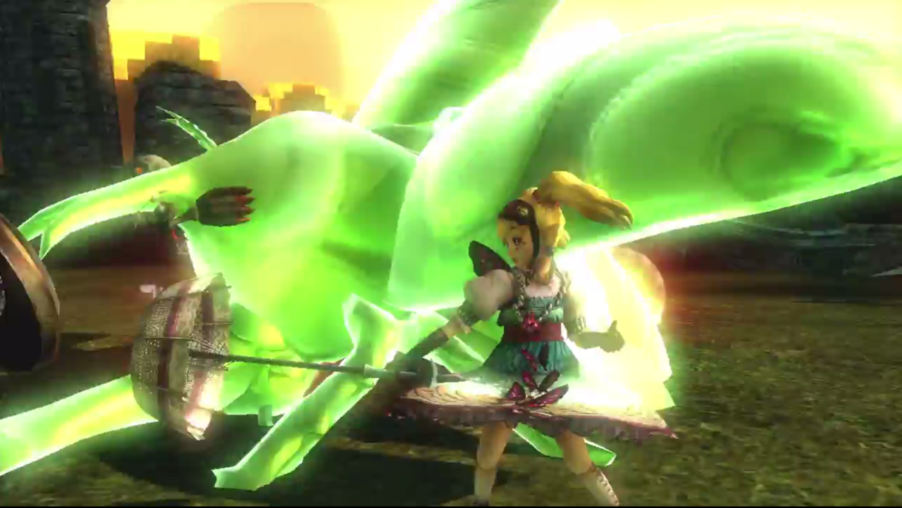 "Watch Agitha fight in ""Hyrule Warriors"""