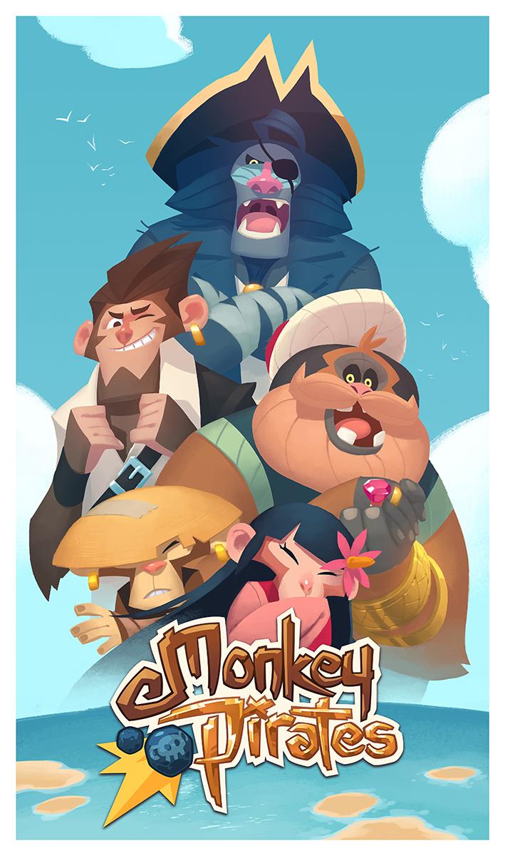 Monkey Pirates keyart