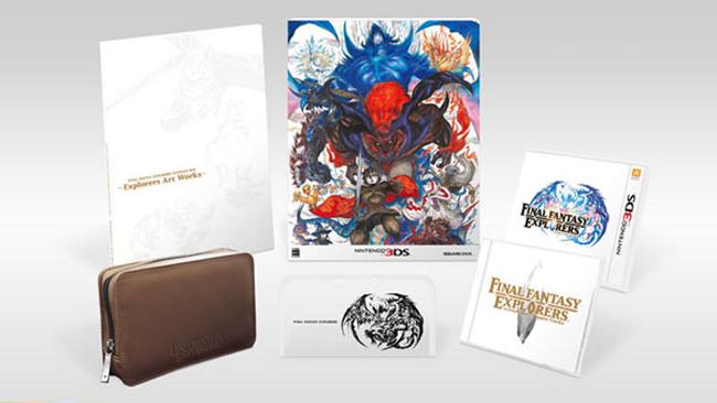 Final Fantasy Explorers Ultimate Box for Japan