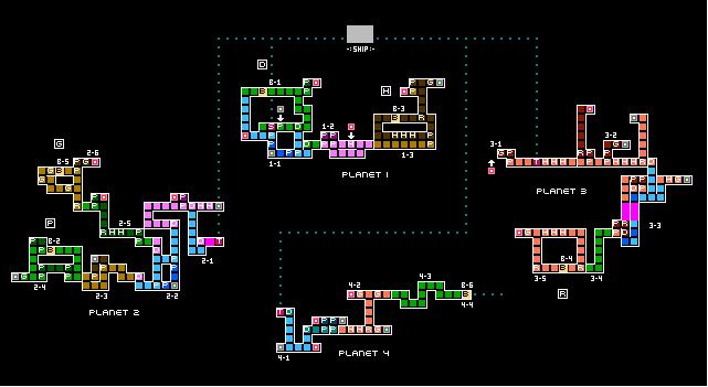 xeodrifter-map