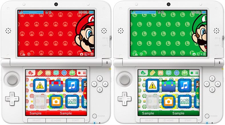 Gorgeous 3DS Background Themes Revealed