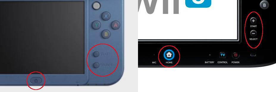 New 3DS Wii U