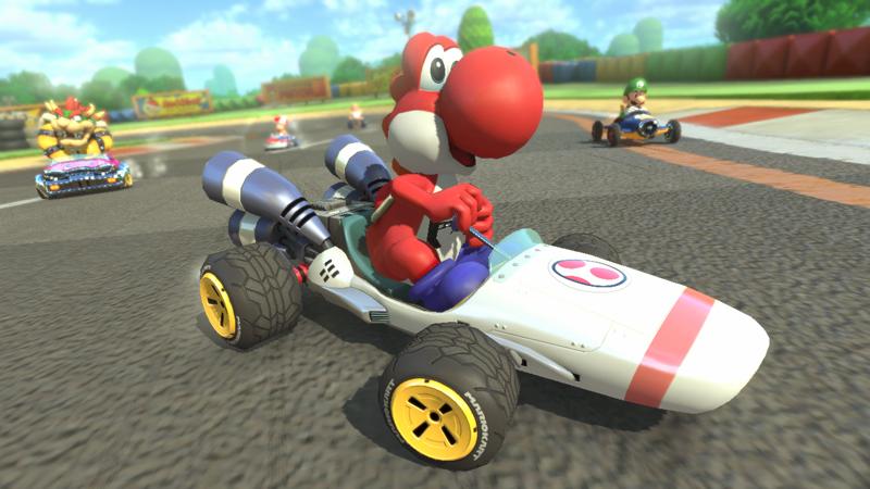 B Dasher From Mario Kart DS Returns In Mario Kart 8 DLC