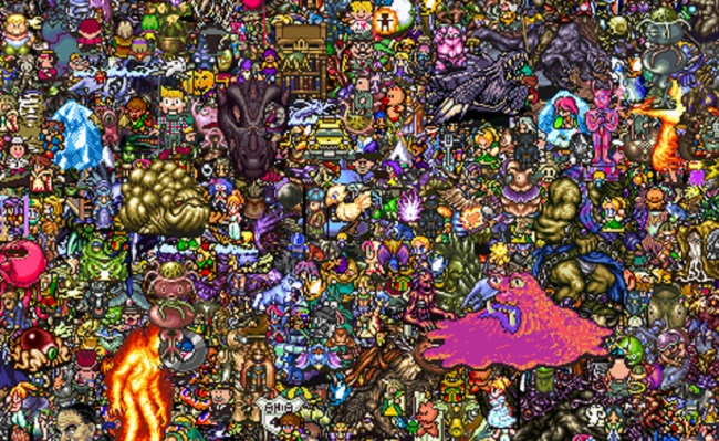 Check Out 13,000 SNES Characters in One Image