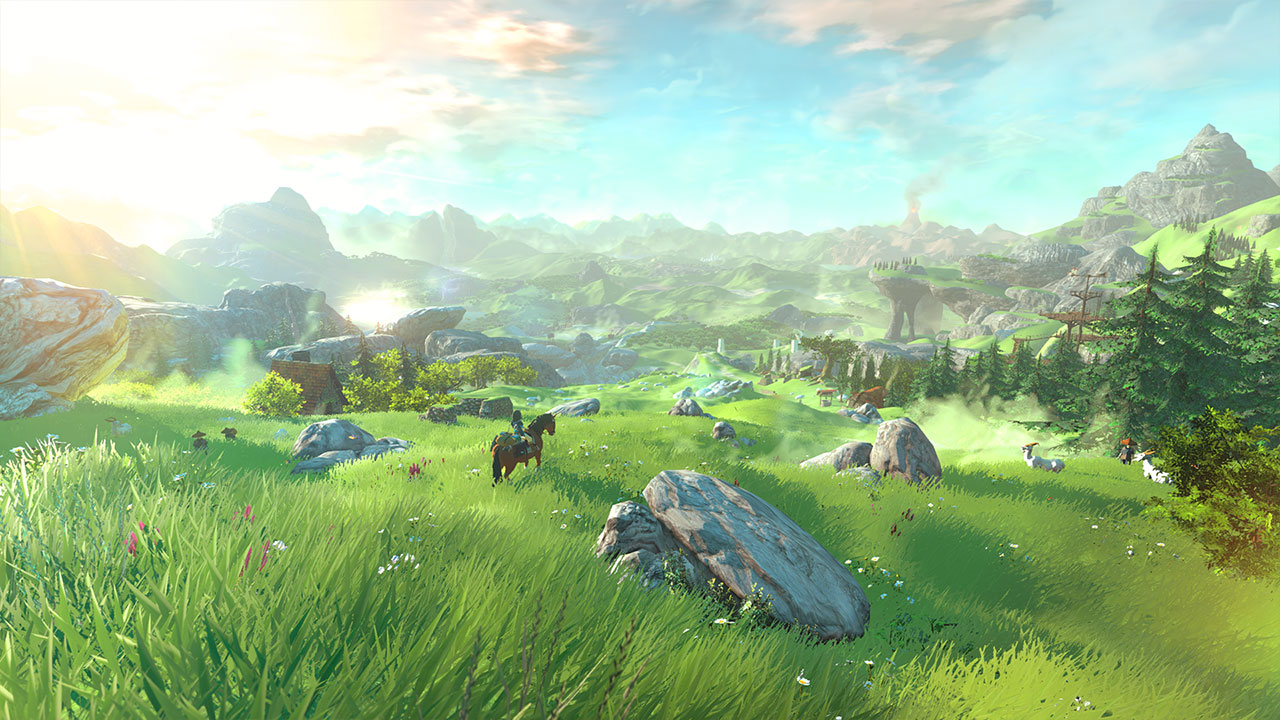 Nintendo Wants To Put A Twist On The Open World Element Of Zelda Wii U