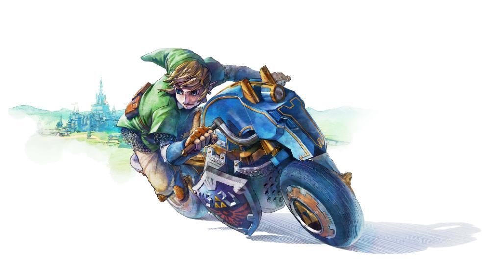 Epona Inspired Bike, Master Cycle, Confirmed For Mario Kart 8 DLC