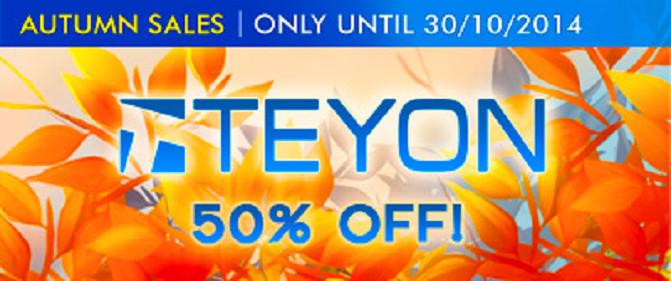 Teyon Autumn Sale