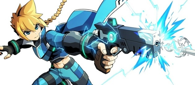 Azure Striker Gunvolt is Coming to Australia