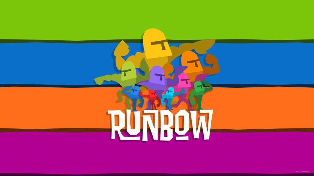 Meet Runbow, a Nine-Player Wii U Platformer