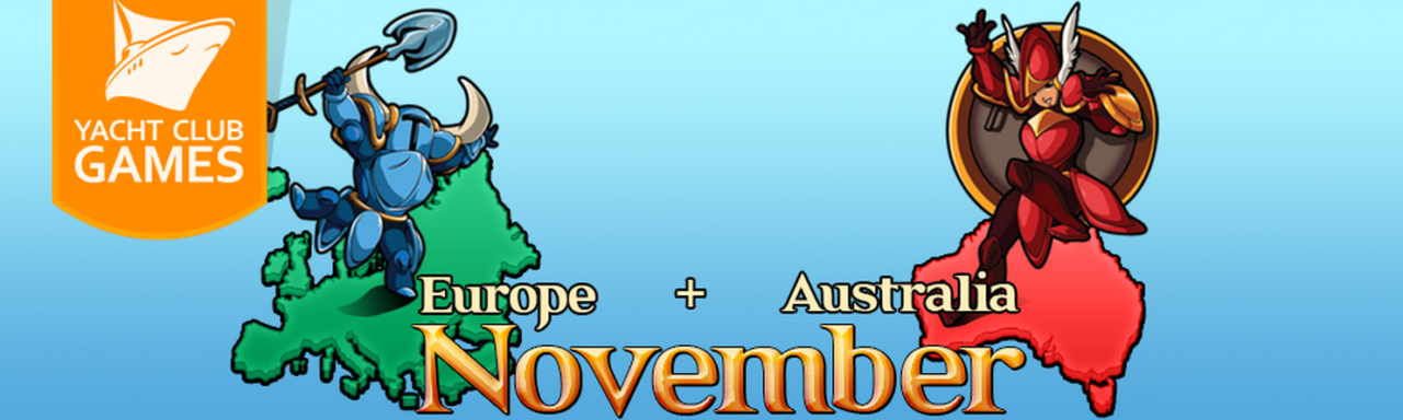 Shovel Knight Coming to Europe and Australia in November, plus Exclusive 3DS Theme