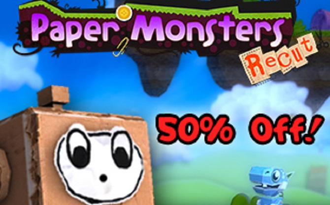Paper Monsters Recut is getting a 50% off sale
