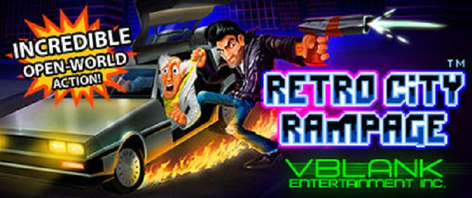 Retro City Rampage Update For 3DS and WiiWare