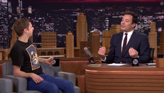 Video: Jimmy Fallon Freaks Out Over Mario Kart 8