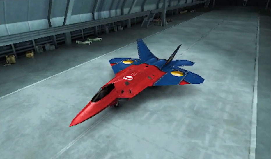 Ace Combat's Nintendo-themed Fighter Planes