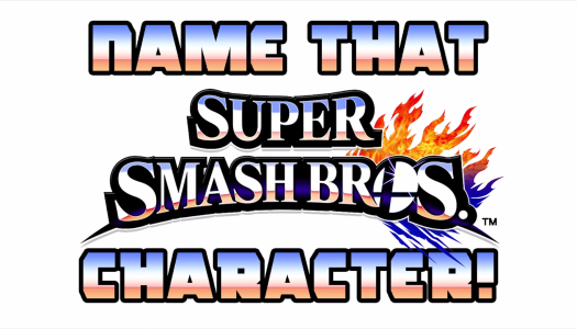 Video: Super Smash Bros. Name That Character!