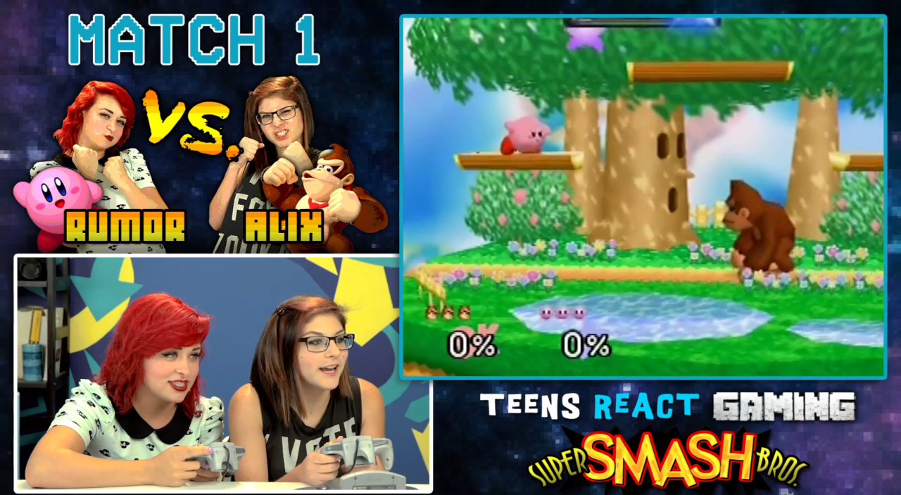 Video: Teens React To Super Smash Bros. N64