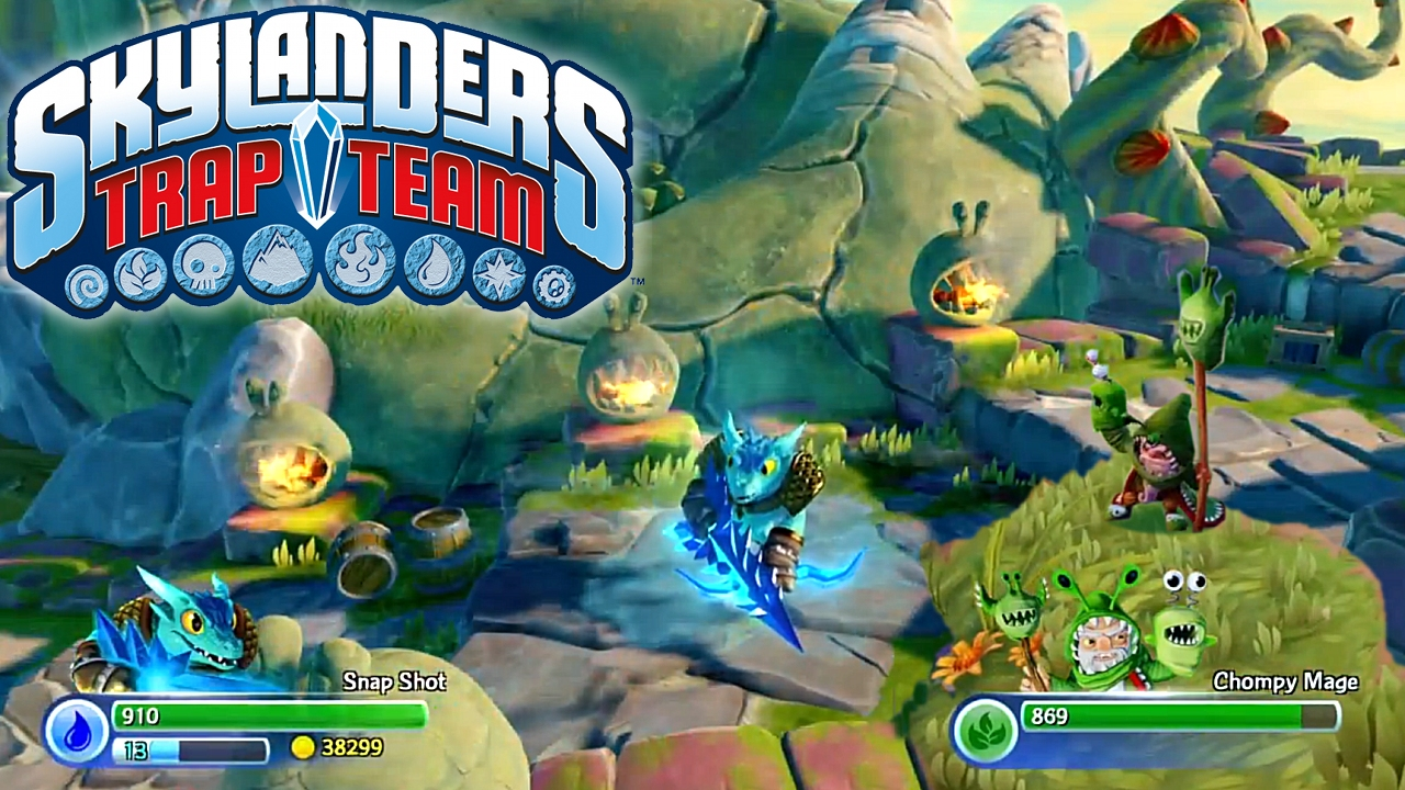 PN Review: Skylanders: Trap Team (Wi U)