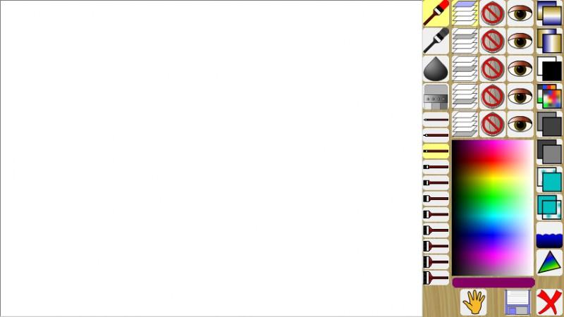 Blank Canvas- SDK Paint Screenshot