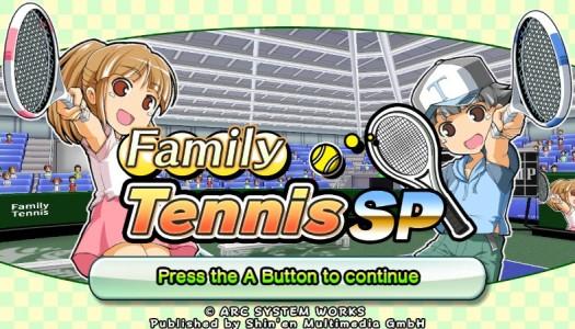 PN Review: Family Tennis SP (Wii U eShop)