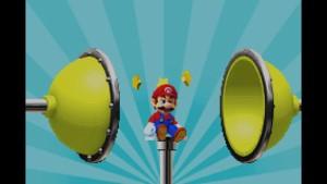 Mario Pinball Land - lost ball