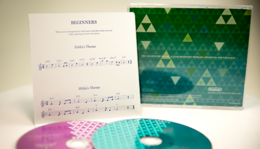 The Legend of Zelda: A Link Between Worlds Soundtrack for Club Nintendo (Australia)