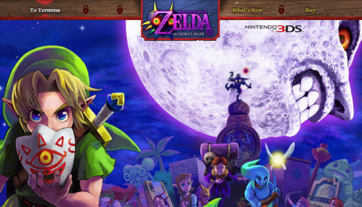 Nintendo Launches Official Majora's Mask Website