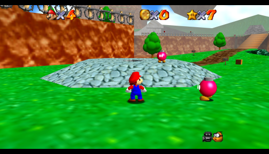 Video: Super Mario 64 Fan-made HD Remake
