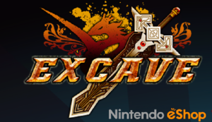 Excave title