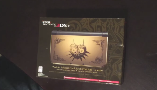 Unboxing: New Nintendo 3DS XL – Majora's Mask Edition + My Launch Day Experience