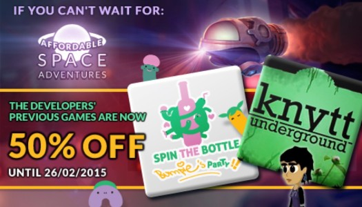 KnapNok Games and Nifflas' Games team up for a hype discount