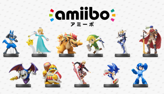 Amiibo launching in card form this year
