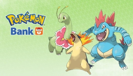 Meganium, Typhlosion, and Feraligatr now Available for Pokémon Bank Subscribers