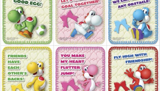 Nintendo's Own Brand of Valentine's Day Cards