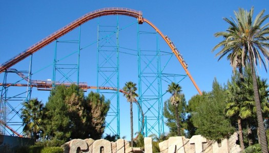 Six Flags Magic Mountain's Goliath is to receive a Monster Hunter 4 Ultimate makeover