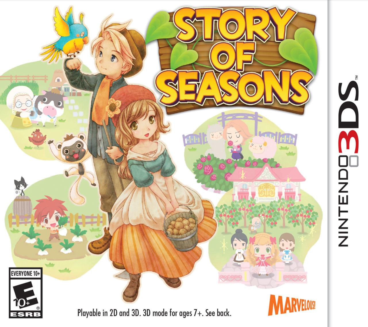 Story of Seasons- Package Art